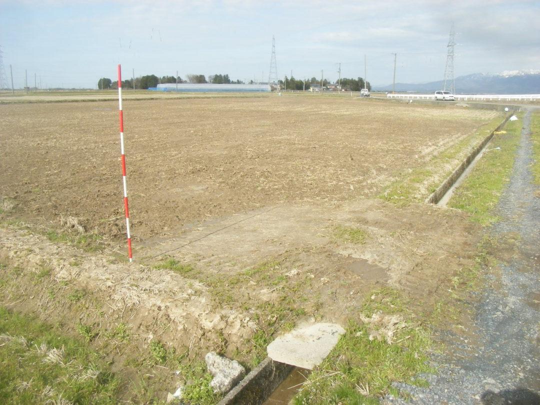 農業基盤整備促進事業 畦畔除去